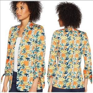 Tahari Arthur S Levine Tropical Blazer Women's siz